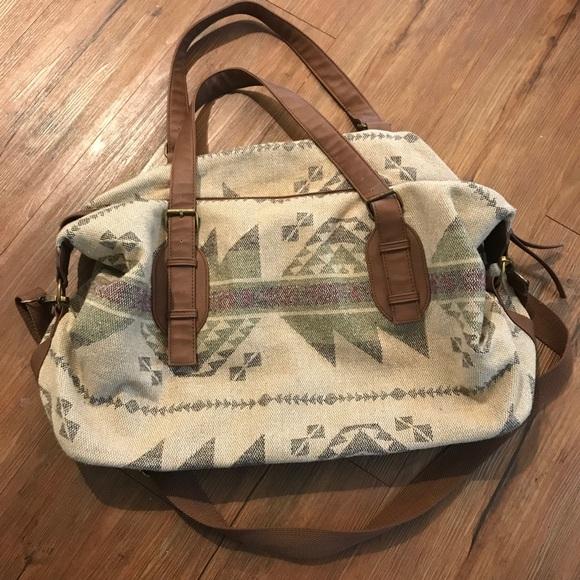 Handbags - Aztec Weekender Bag